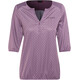 Maier Sports Doora Blouse Women lilac allover